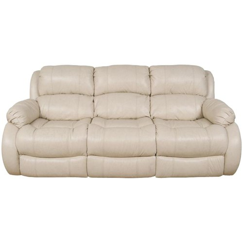 England Litton Casual Styled Double Reclining Sofa with Power Operation