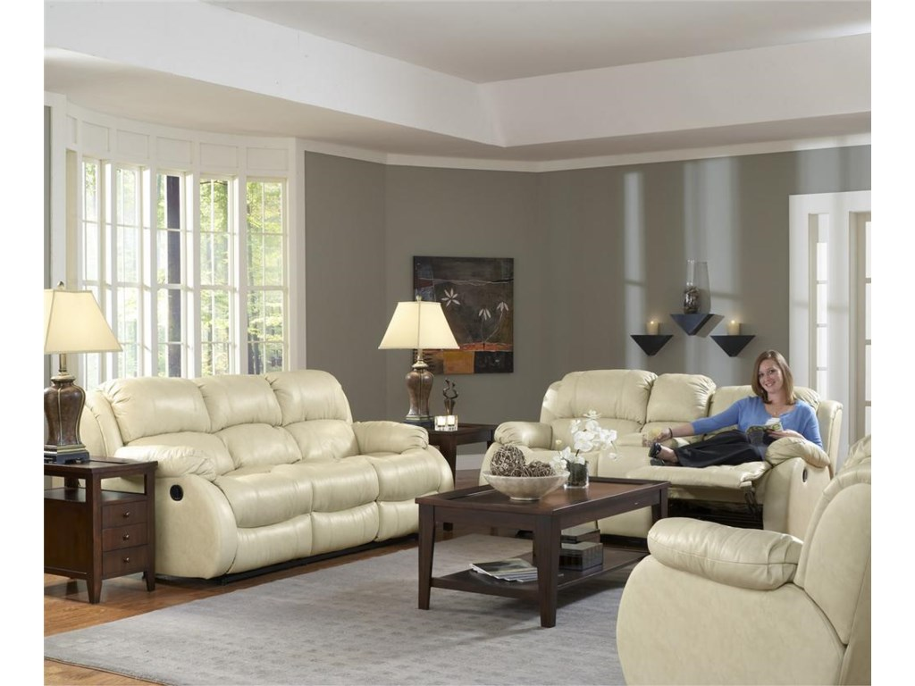 Shown With Reclining Love Seat and Recliner