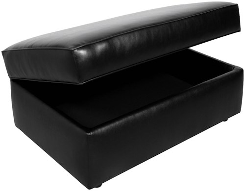 England Lochlan Casual Styled Rectangle Storage Ottoman