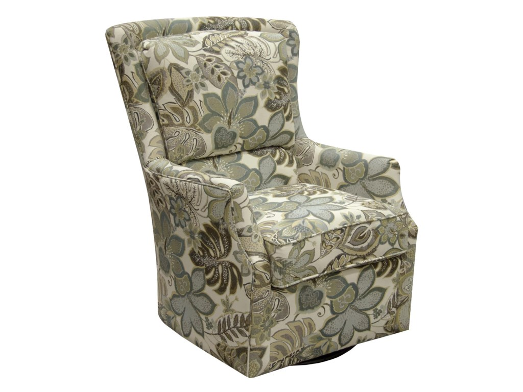 England CabooseSwivel Accent Chair