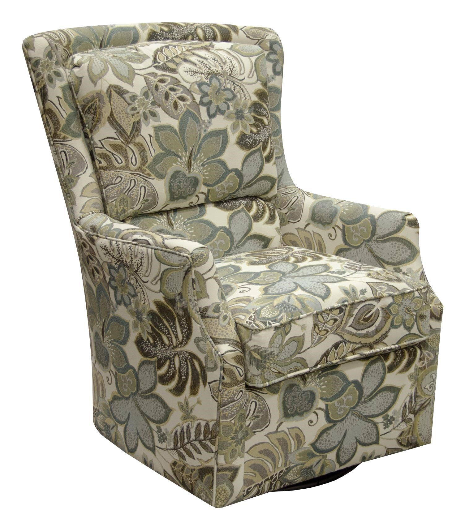 England CabooseChair  sc 1 st  Crowley Furniture & England Caboose Swivel Chair | Crowley Furniture | Upholstered Chairs