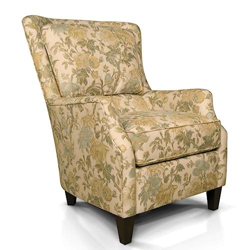 England Loren Plush Back Club Chair