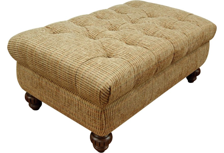 Pleasant Loudon Traditional Styled Storage Ottoman With Tufted Seat Cushion By England At Dunk Bright Furniture Squirreltailoven Fun Painted Chair Ideas Images Squirreltailovenorg