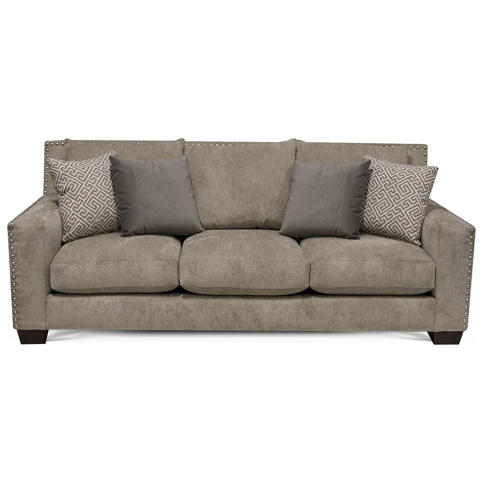England Luckenbach Contemporary Sofa With Nailhead Trim