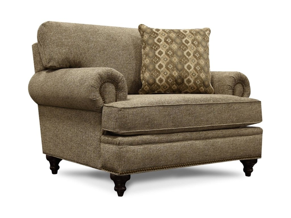 England JuneChair & 1/2 with Nailhead Trim