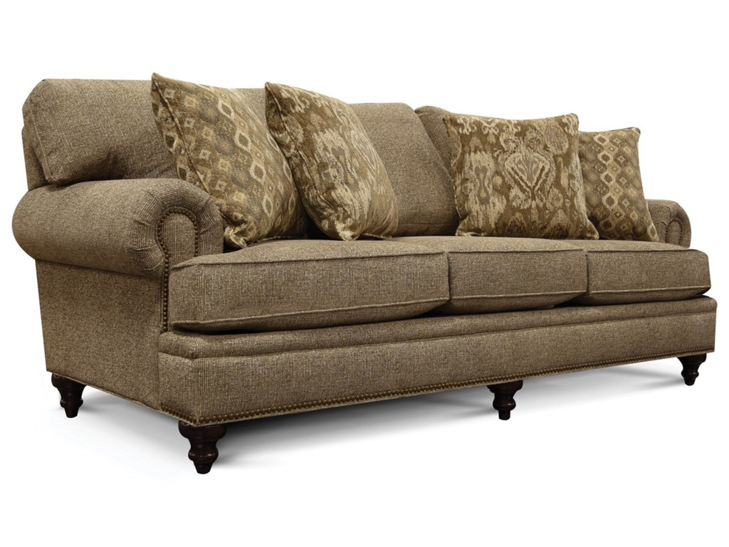 England JuneSofa with Nailhead Trim
