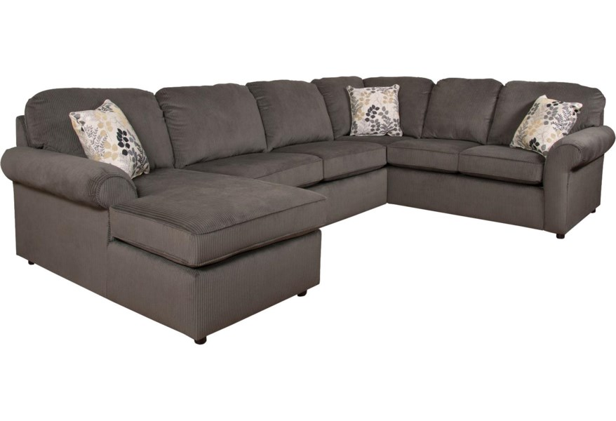 Malibu 5-6 Seat (left side) Chaise Sectional