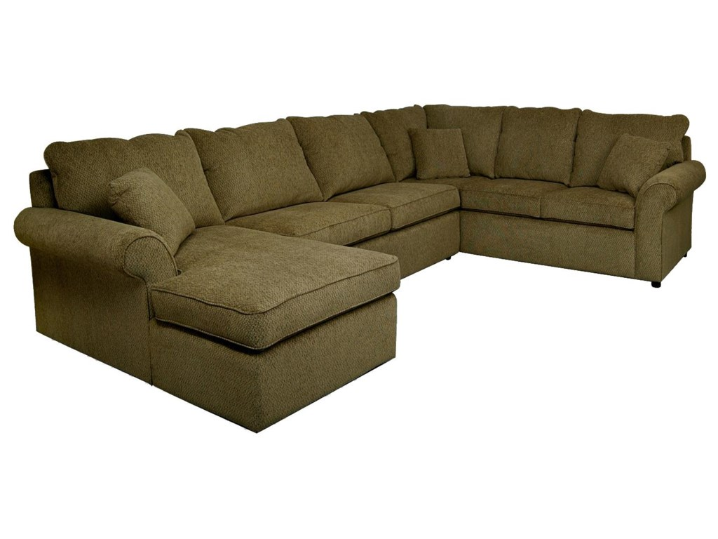 England Malibu5-6 Seat (left side) Chaise Sectional