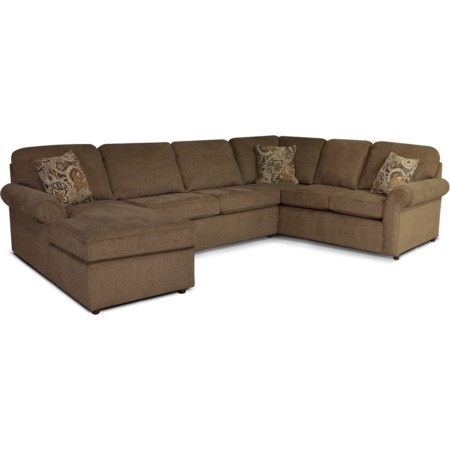 5-6 Seat (left side) Chaise Sectional