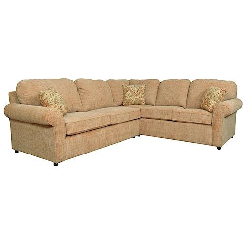 England Malibu 4 5 Seat Corner Sectional Sofa Pilgrim