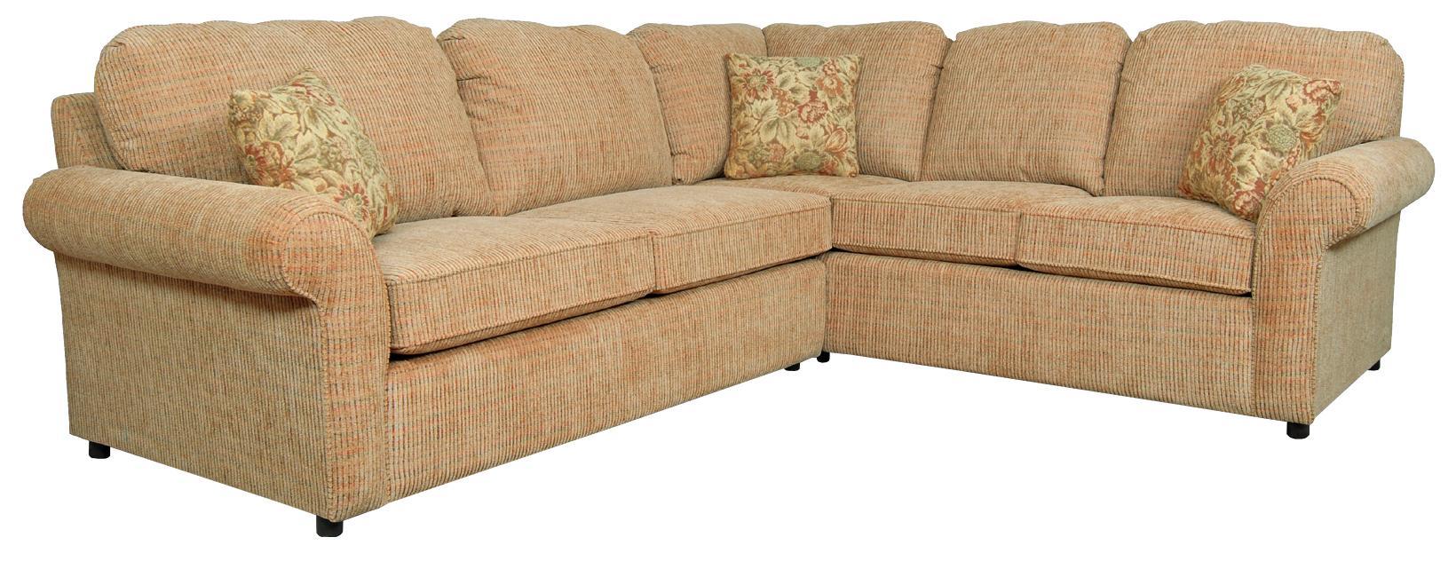 England Malibu 4 5 Seat Corner Sectional With Sleeper