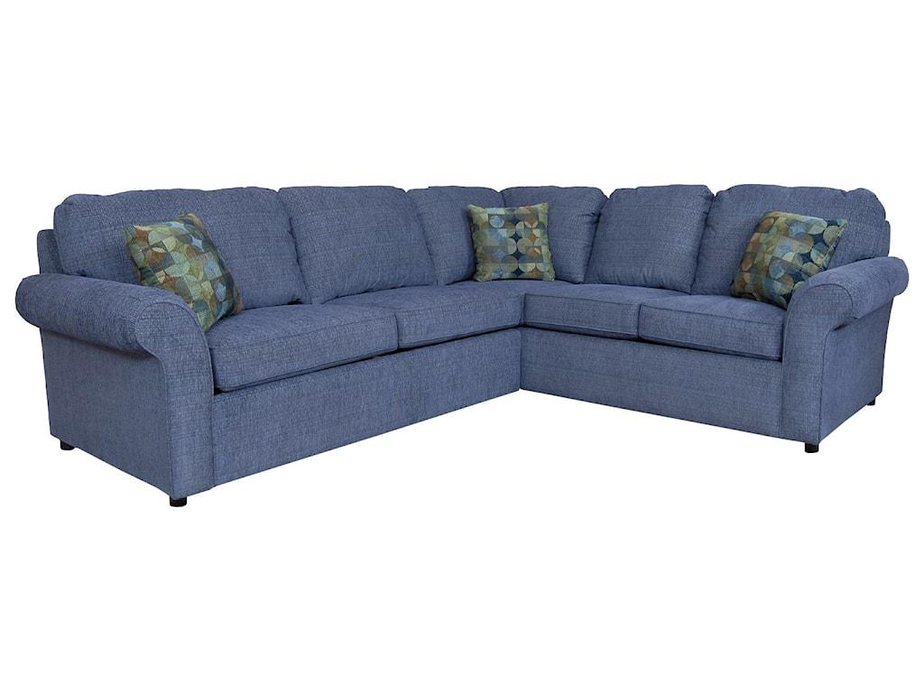 England Malibu4-5 Seat Corner Sofa with <b>Sleeper</b>