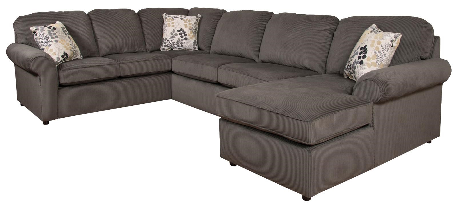 England Malibu 5-6 Seat (right side) Chaise Sectional Sofa  sc 1 st  A1 Furniture : malibu sectional - Sectionals, Sofas & Couches
