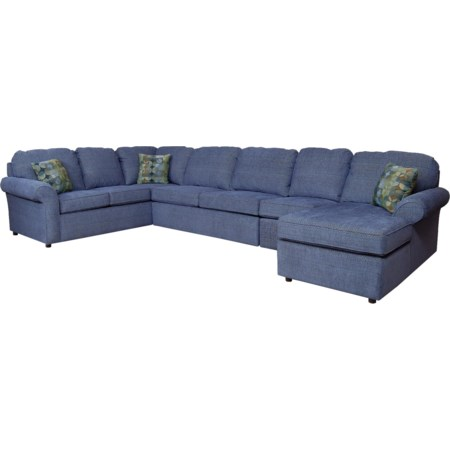 6-7 Seat (right side) Chaise Sectional