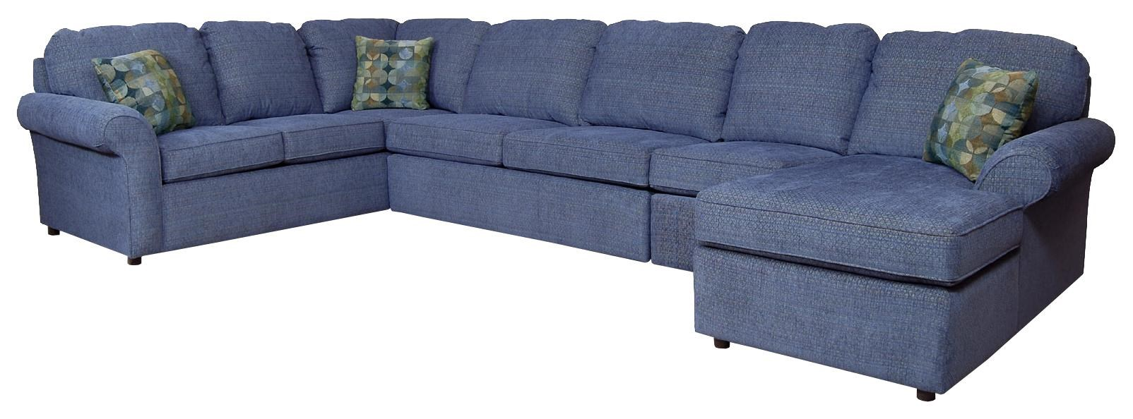 England Malibu6 7 Seat (right Side) Chaise Sectional ...