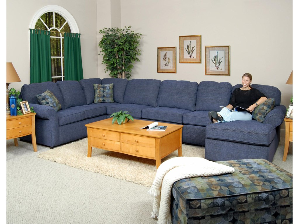 England Malibu6-7 Seat (right side) Chaise Sectional