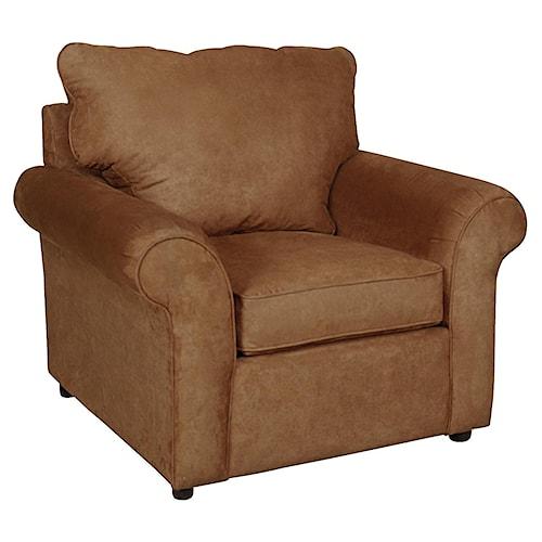 England Malibu Casual Living Room Chair