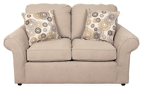 England Malibu Casual Living Room Love Seat
