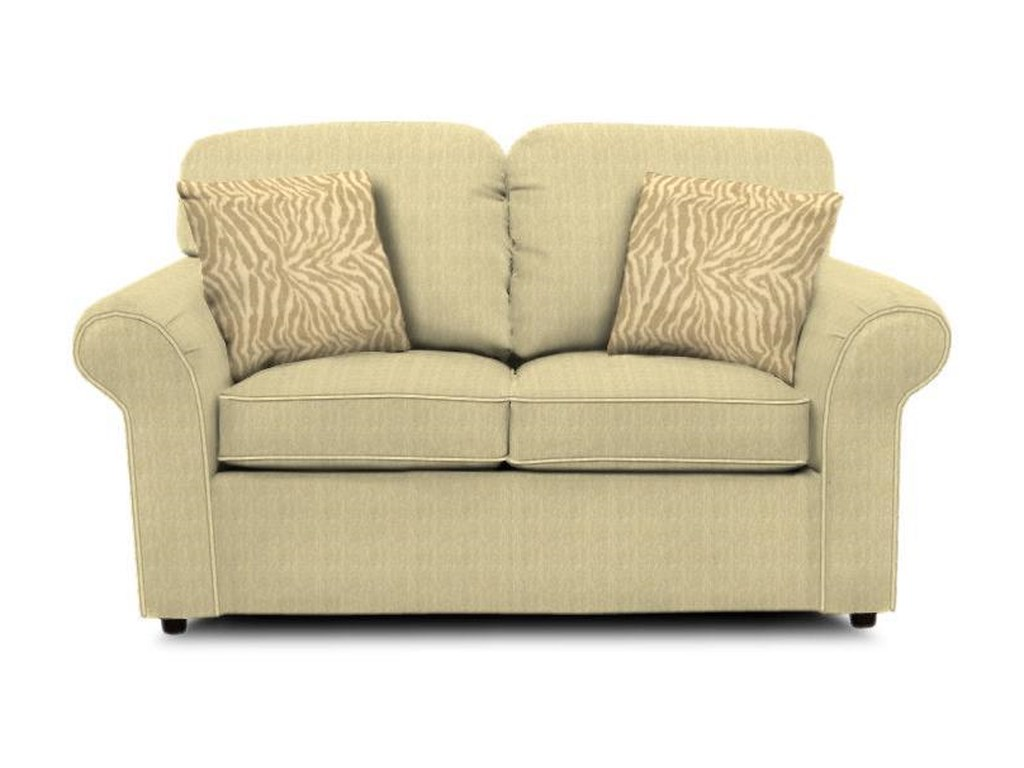England Malibu 2406 Casual Living Room Love Seat Dunk Bright