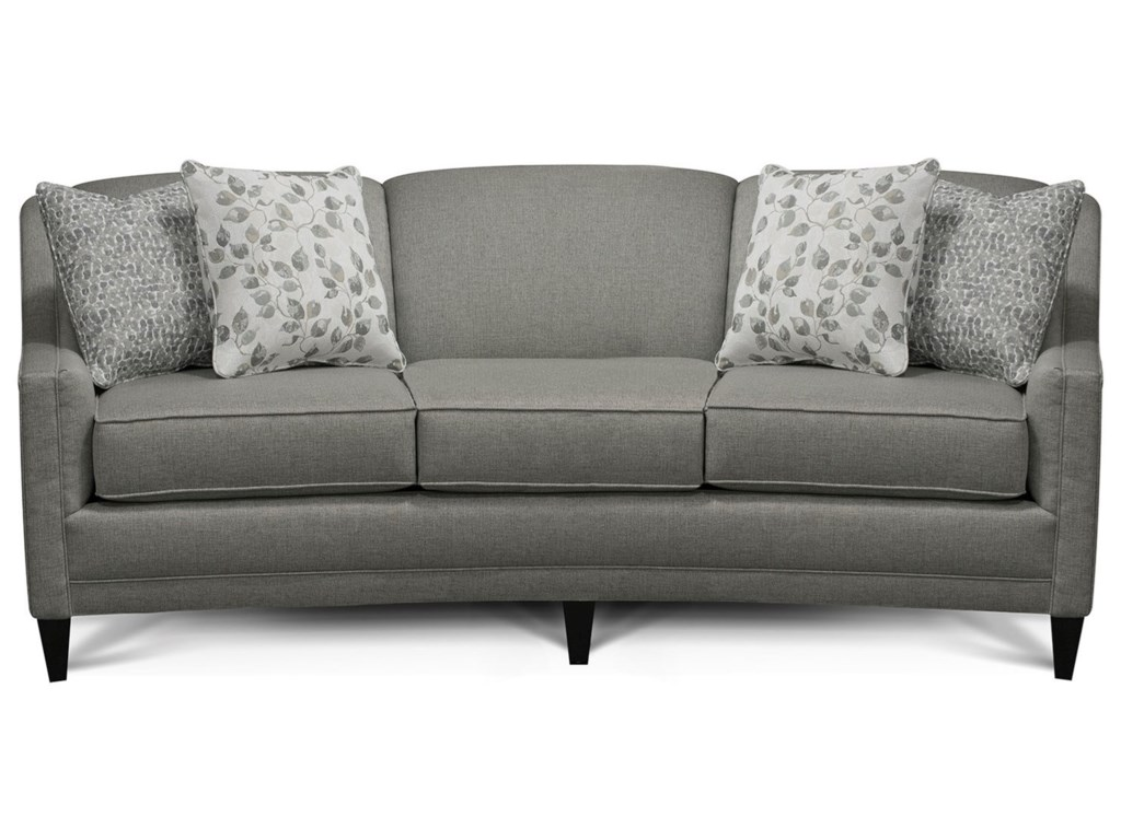 Meredith Transitional Sofa With Track Arms By England