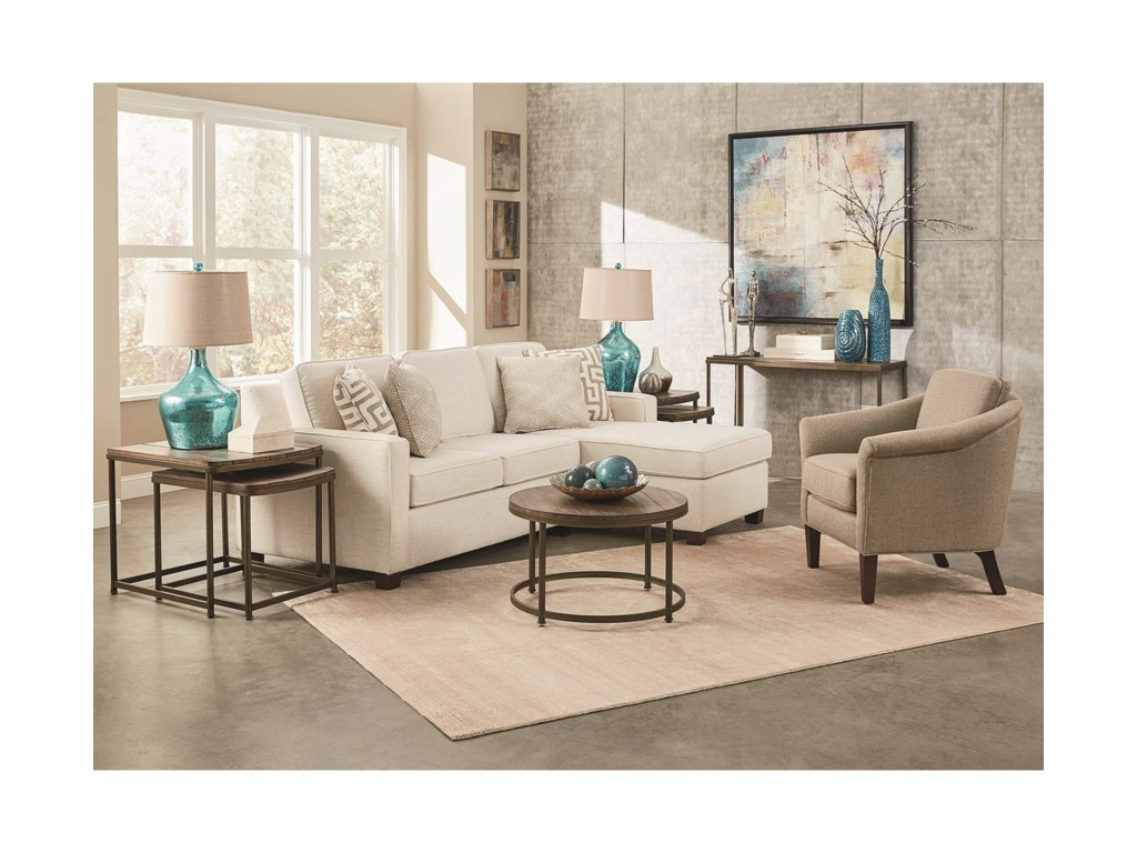 England Metromix - River WestSofa with Chaise