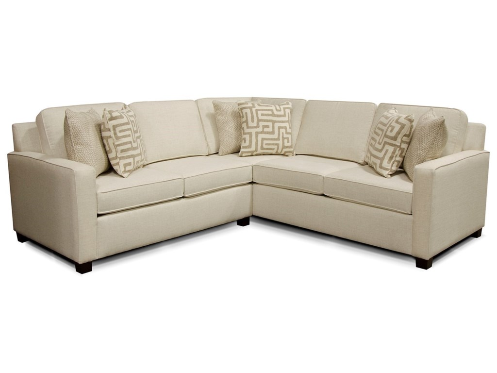 England Metromix - River WestSectional Sofa with Four Seats