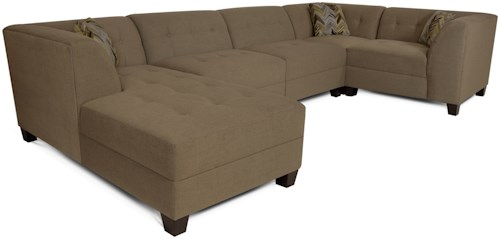 England Miller Sectional Sofa with 4-5 Seats