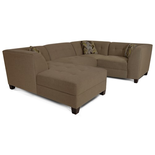 England Miller Sectional Sofa with 3-4 Seats