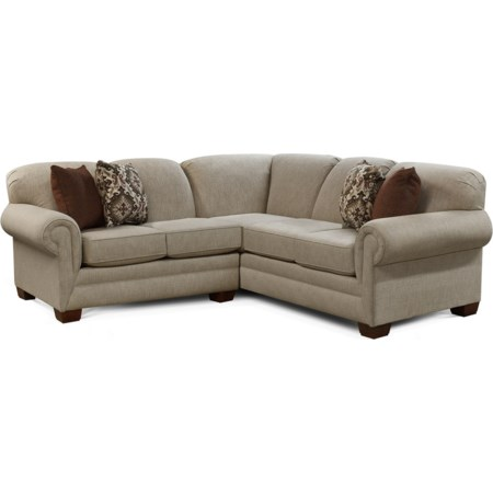 2pc LAF Loveseat Sectional