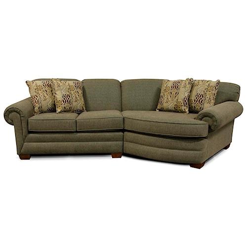 England Monroe Small Sectional Sofa