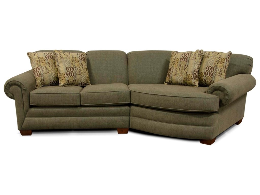 England Monroe Small Sectional Sofa Dunk Bright Furniture Sofas