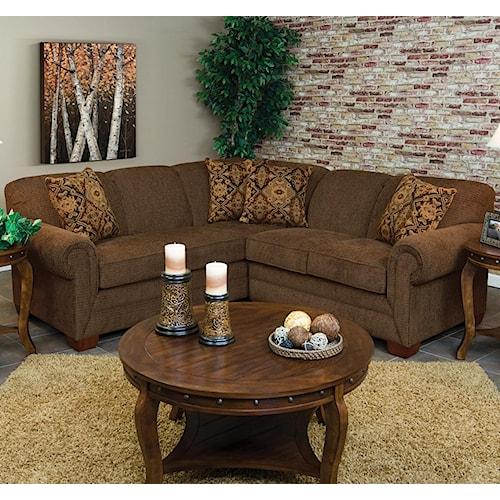 England Monroe 2 Piece Laf Sofa Sectional Colder S