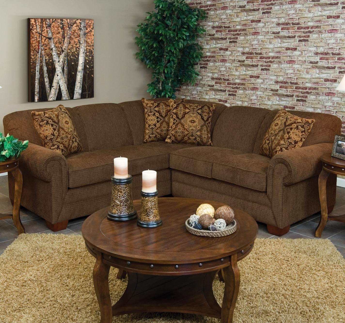 England Monroe 2 Piece LAF Sofa Sectional