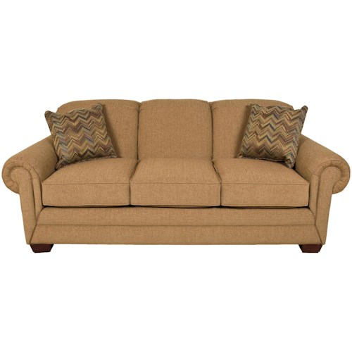 England Monroe Traditional Queen Sleeper Sofa
