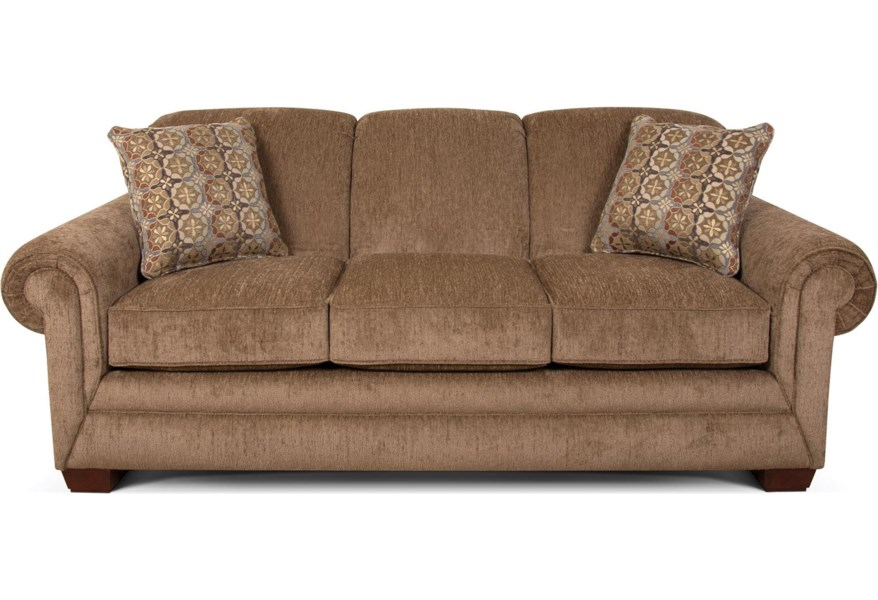 Phenomenal Monroe Traditional Stationary Sofa By England At H L Stephens Machost Co Dining Chair Design Ideas Machostcouk