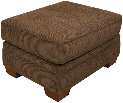 England Monroe Traditional Upholstered Ottoman