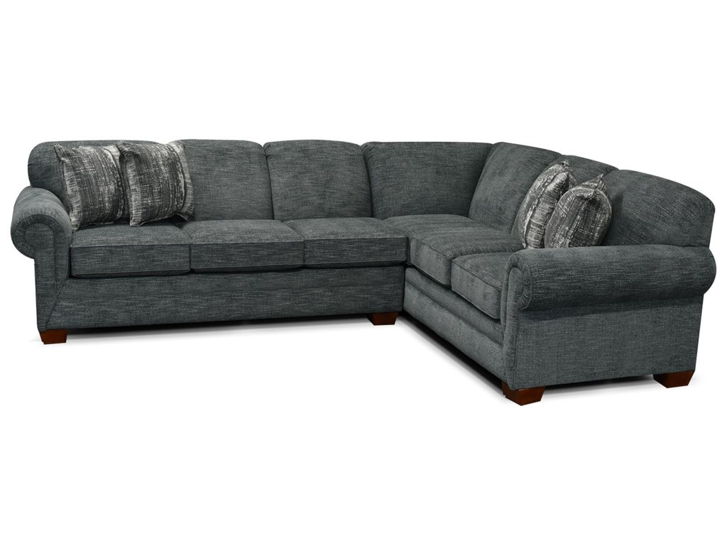 Monroe 2 Piece LAF Sofa Sectional by England at Van Hill Furniture
