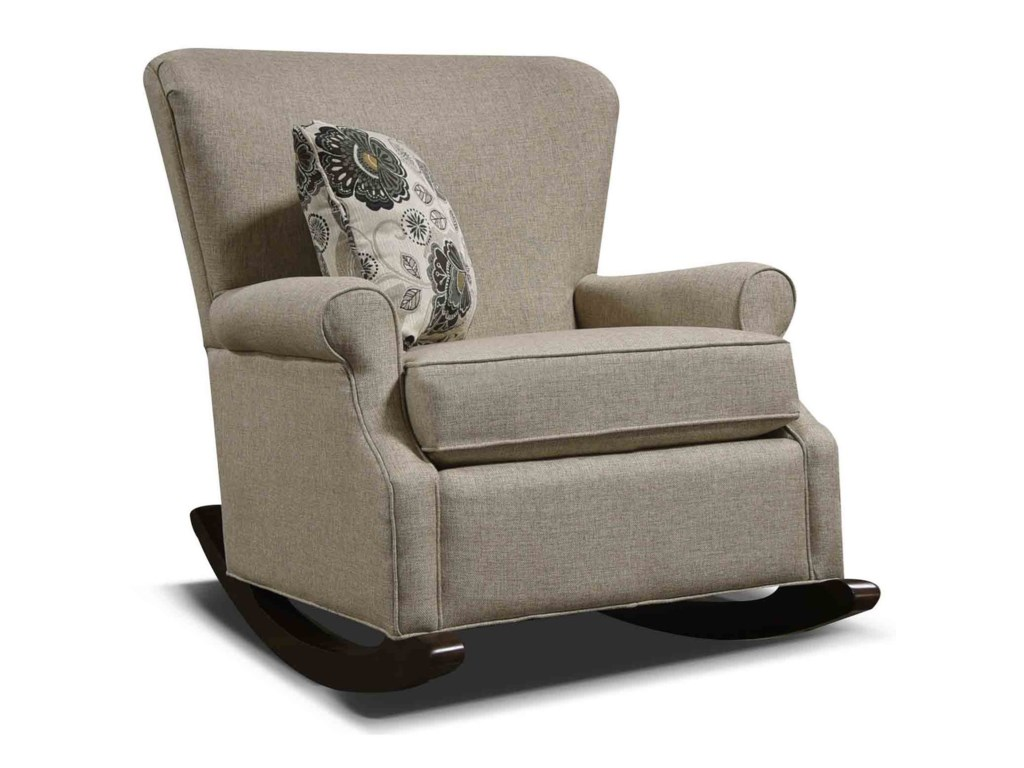 check out 7ebeb d8592 Natalie Upholstered Rocking Chair by England at Furniture and ApplianceMart