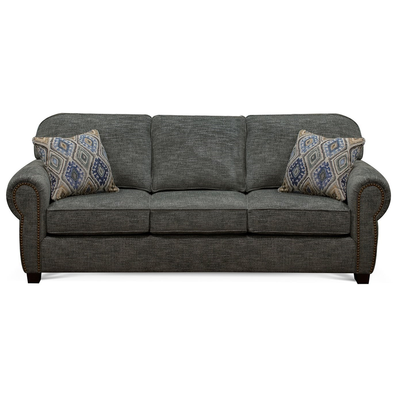 England Neil 8a05n Traditional Sofa With Rolled Arms And
