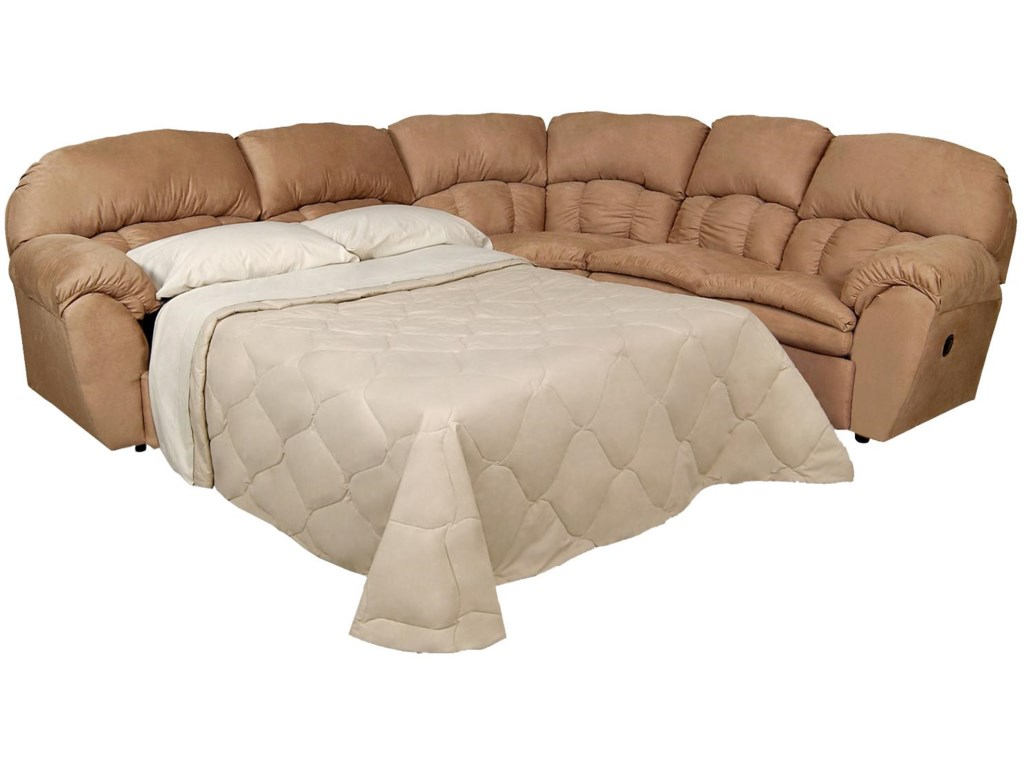 Shown with Sleeper Sofa Extended