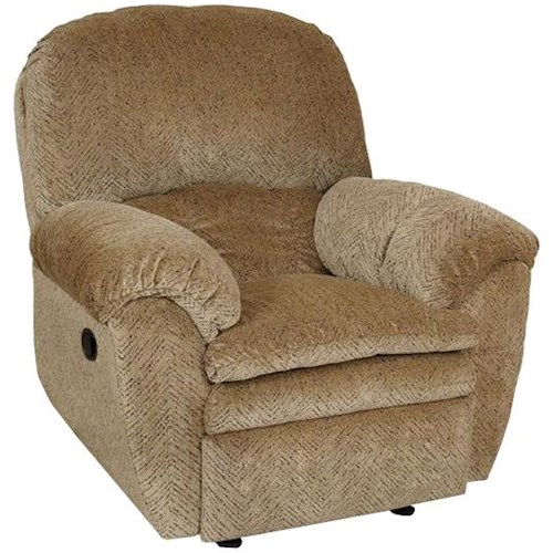 England Oakland Casual Swivel Gliding Recliner with Pillow Arms
