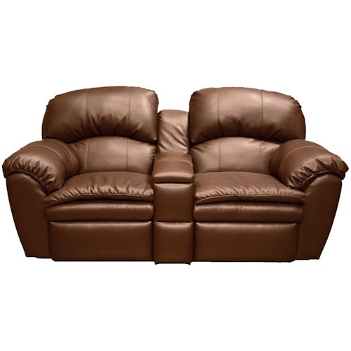 England Oakland Double Reclining Loveseat with Middle Console