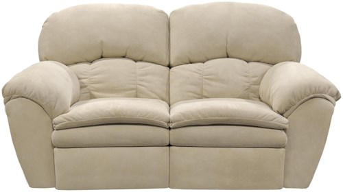 England Oakland Double Reclining Loveseat with Pillow Arms