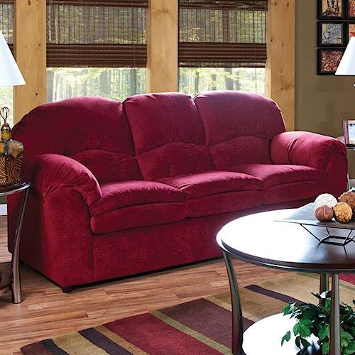 England Oakland Visco Mattress Queen Size Sofa Sleeper