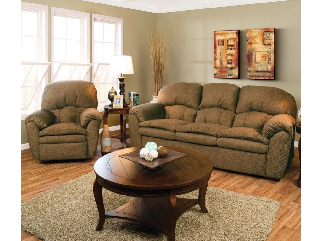 Shown with Coordinating Collection Chair. Sofa Shown May Not Represent Exact Features Indicated.