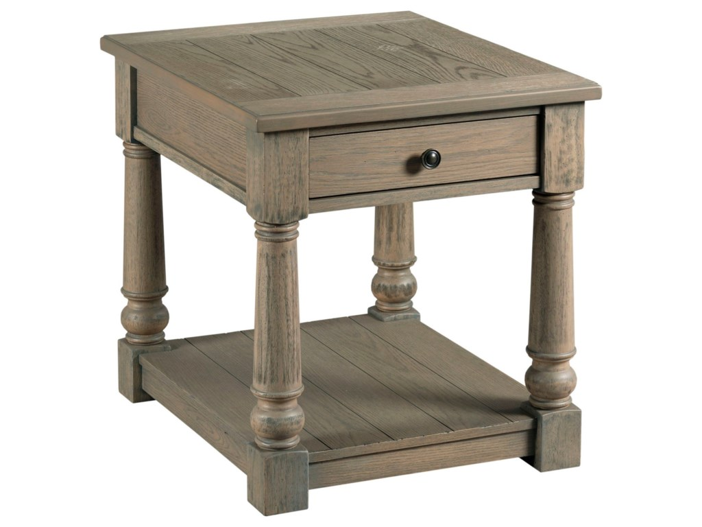 England OutlandRectangular Drawer End Table