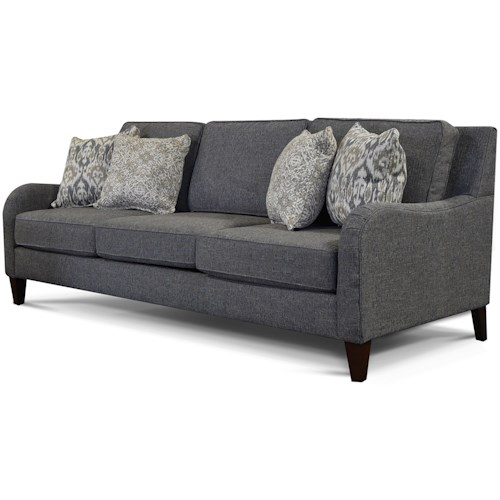 England Preston Sofa With Waterfall Arms Westrich Furniture Liances Sofas