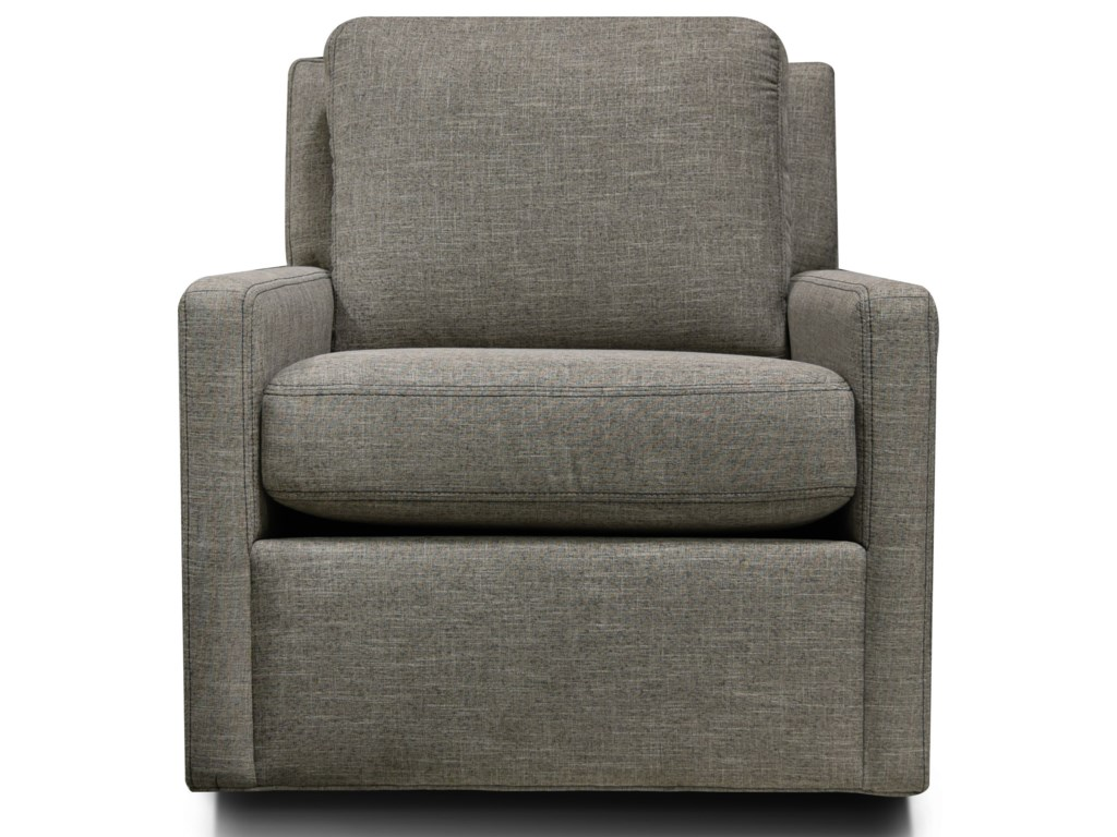 Ramona Contemporary Swivel Chair by England at Crowley Furniture & Mattress