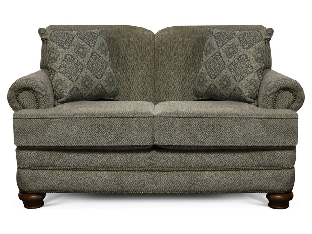 England ReedLoveseat with Nailhead Trim