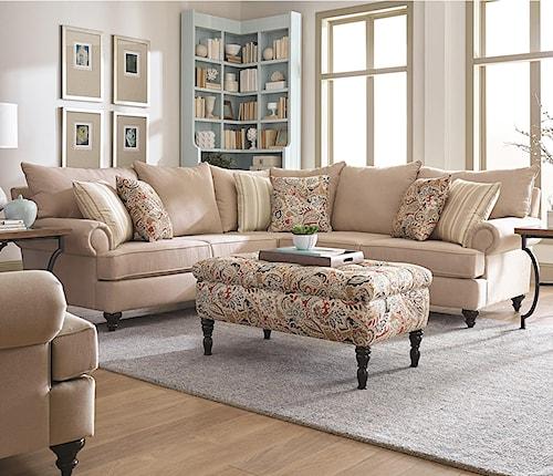 England Rosalie Sectional Sofa